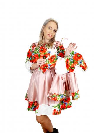 Set rochii Mama si Fiica 453