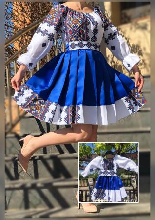 Set rochii stilizate traditional - Mama si Fiica - model 100