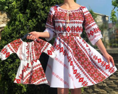 Set rochii stilizate traditional - Mama si Fiica - model 11 [1]