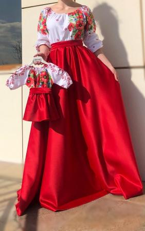 Set rochii stilizate traditional -Mama si Fiica - model 2 [0]