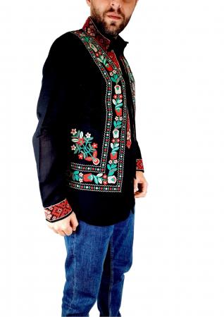 Vesta brodata cu model Traditional Sile1