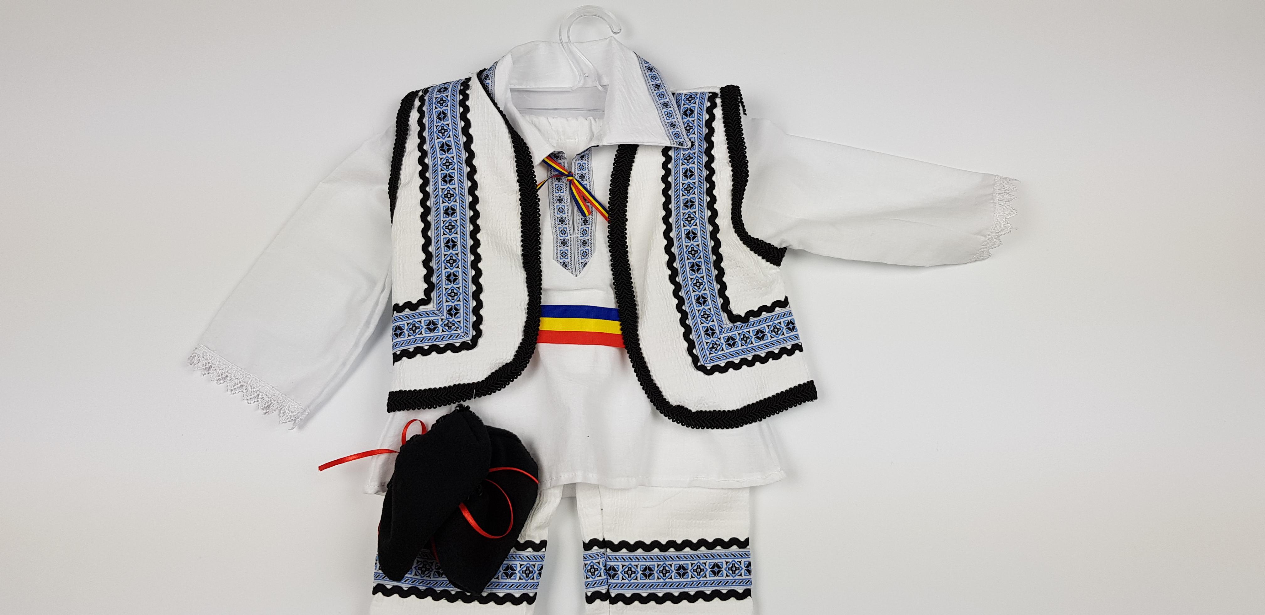 Costum Traditional Baietei 0-12 luni 0