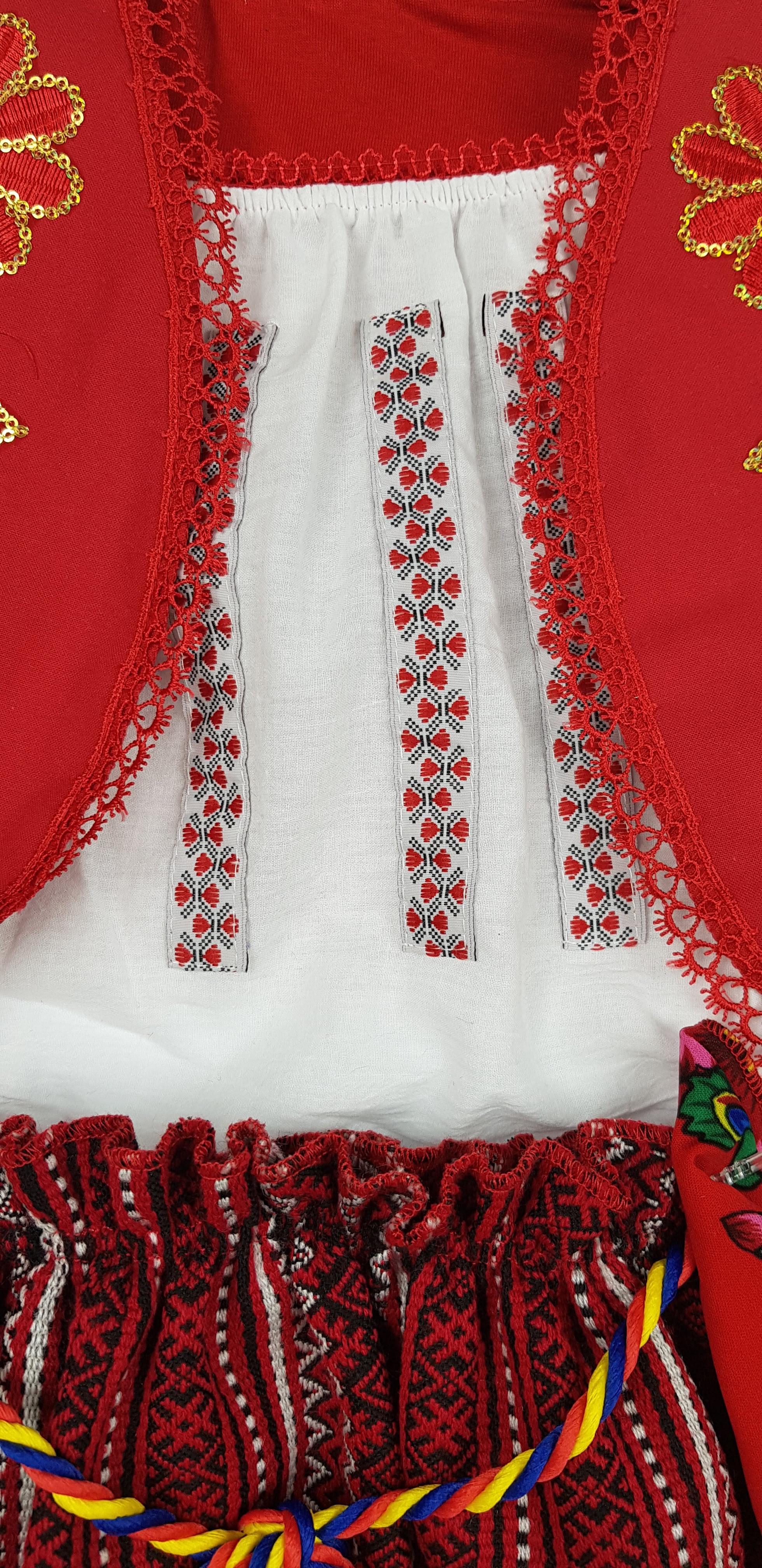 Costum Traditional Fetite 3-12 luni Aurica 2