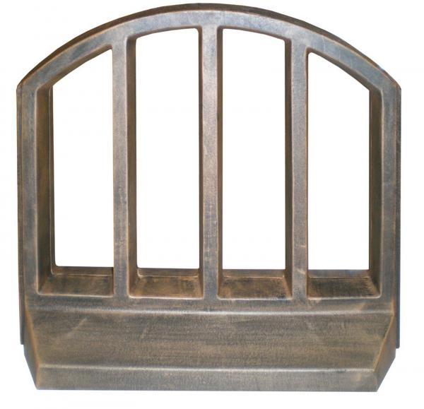 Element PE gard decorativ, imitație lemn 0