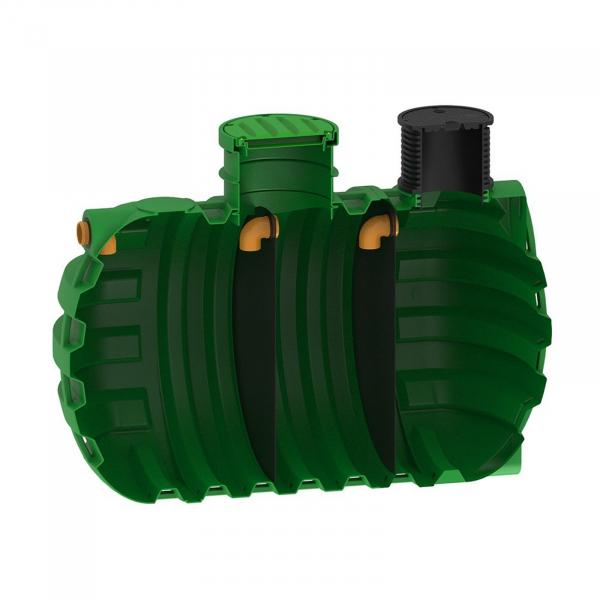 Fosa septica tricamerala Premium, RoSeptic 12000 litri [0]