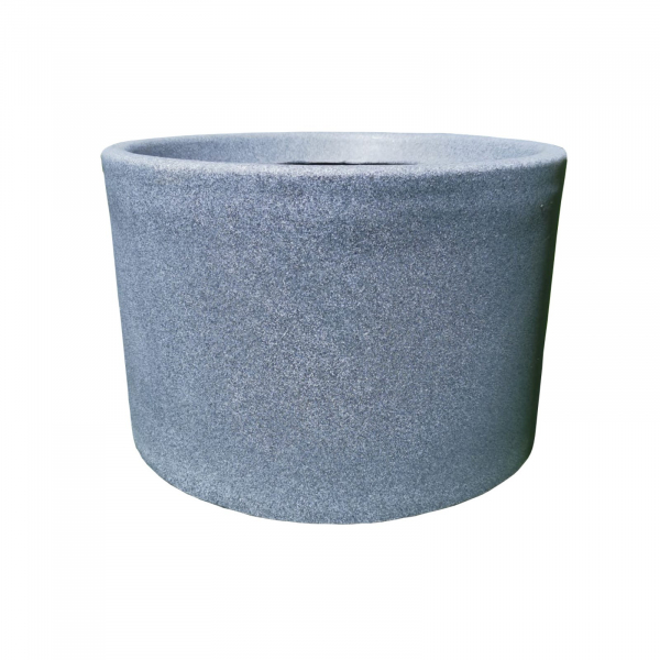Ghiveci PE modern, rotund, imitație granit, model BLUES L 0