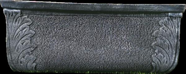 Ghiveci PE vintage, dreptunghiular, model TULIP XL [1]