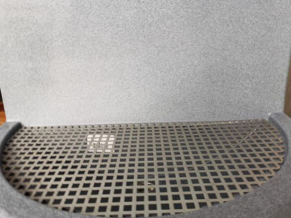 Tablă perforată din oțel inoxidabil pentru chiuveta de grădină MARTE 1