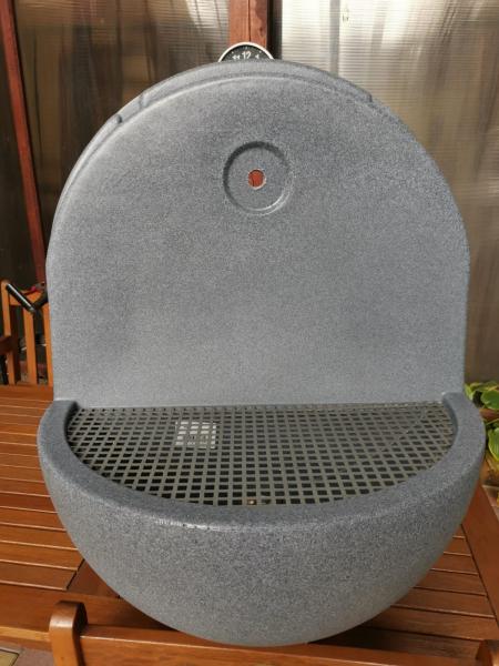 Tablă perforată din oțel inoxidabil pentru chiuveta de grădină MARTE 2