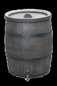BUTOI apă de ploaie din PE, volum 120L [0]