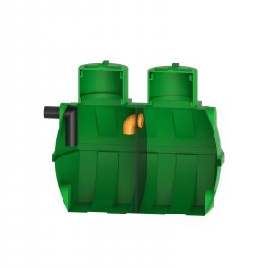 Fosa septica bicamerala Premium, RoSeptic 1000 litri [1]