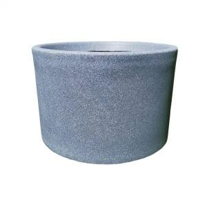 Ghiveci PE modern, rotund, imitație granit, model BLUES L0