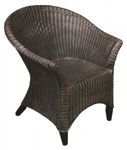 Scaun din PE, imitație ratan, model RATTAN0