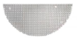 Tablă perforată din oțel inoxidabil pentru chiuveta de grădină MARTE0