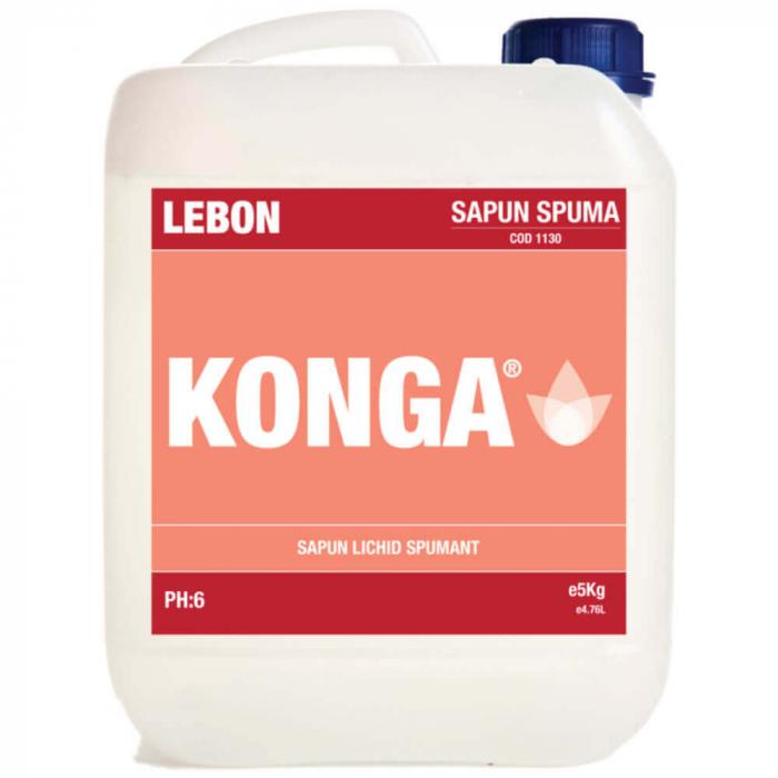 Sapun Lichid Konga Spuma 5 L 0