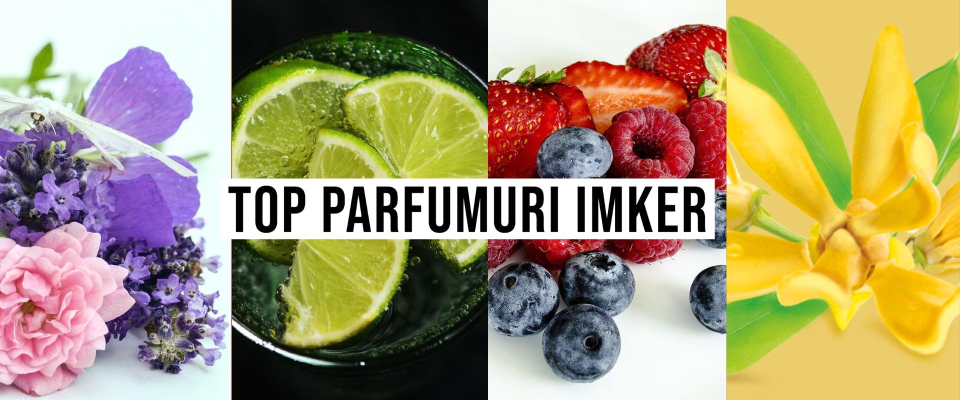 Topul parfumurilor IMKER din uleiuri esentiale pentru casa si masina