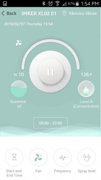 Aparat de odorizare profesional IMKER AromaLUX XL03-L 5