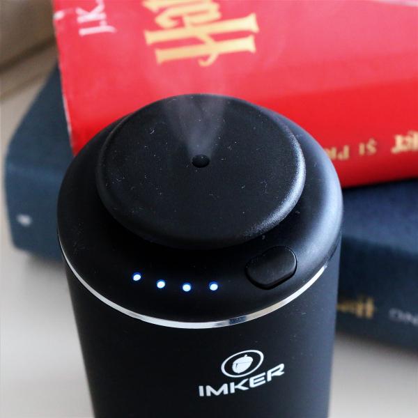 Aparat de odorizare profesional IMKER AromaLUX XS02.AC - cu acumulator (parfum inclus) 5