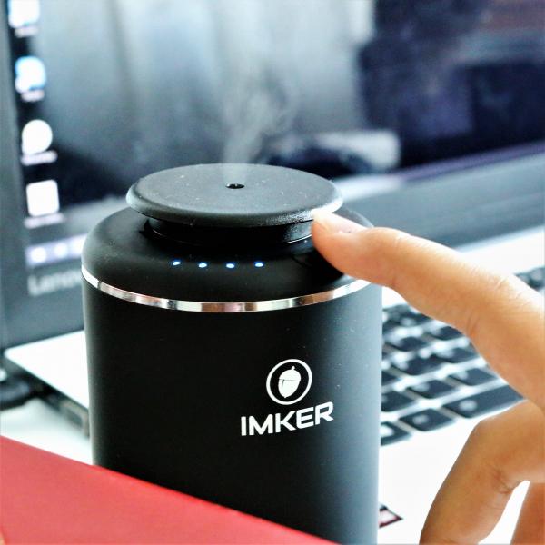 Aparat de odorizare profesional IMKER AromaLUX XS02.AC - cu acumulator (parfum inclus) 1