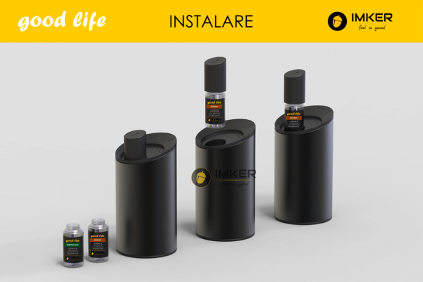 Aparat de odorizare profesional IMKER AromaLUX XS03.AC - cu acumulator (parfum inclus) 7
