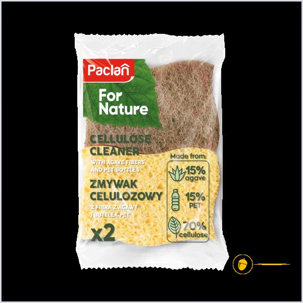 Burete bucatarie din celuloza, agave si pet reciclat (set 2 buc) - Paclan for Nature 0