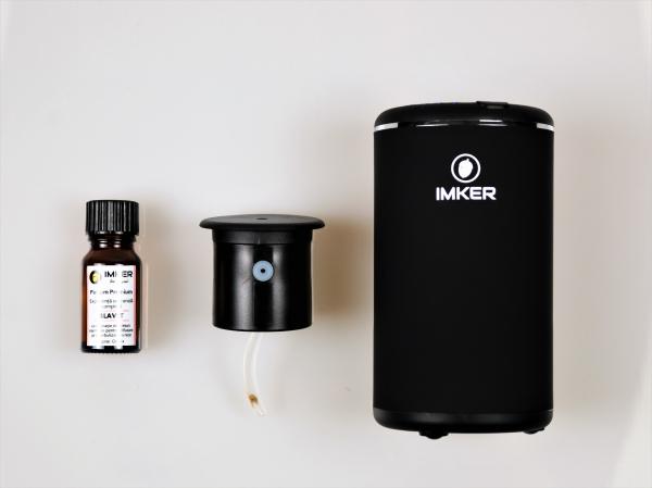 Aparat de odorizare profesional IMKER AromaLUX XS02.AC - cu acumulator (parfum inclus) 20