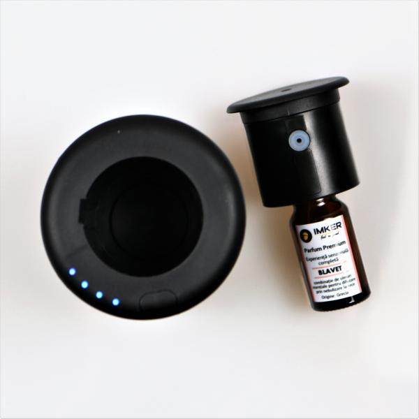 Aparat de odorizare profesional IMKER AromaLUX XS02.AC - cu acumulator (parfum inclus) 19