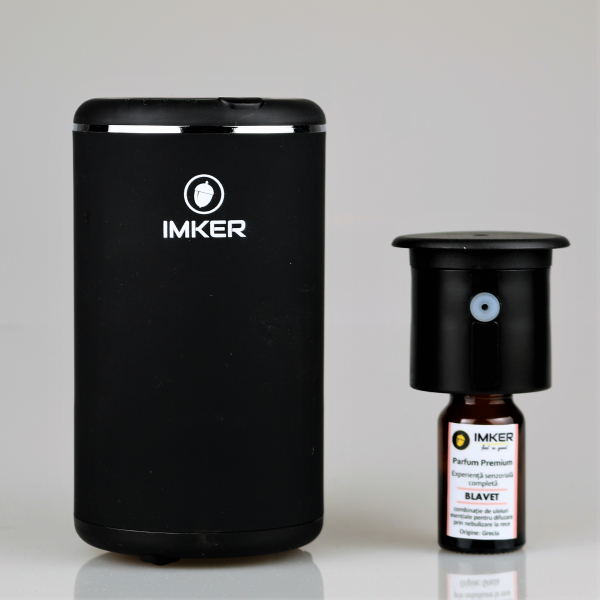 Aparat de odorizare profesional IMKER AromaLUX XS02.AC - cu acumulator (parfum inclus) 16