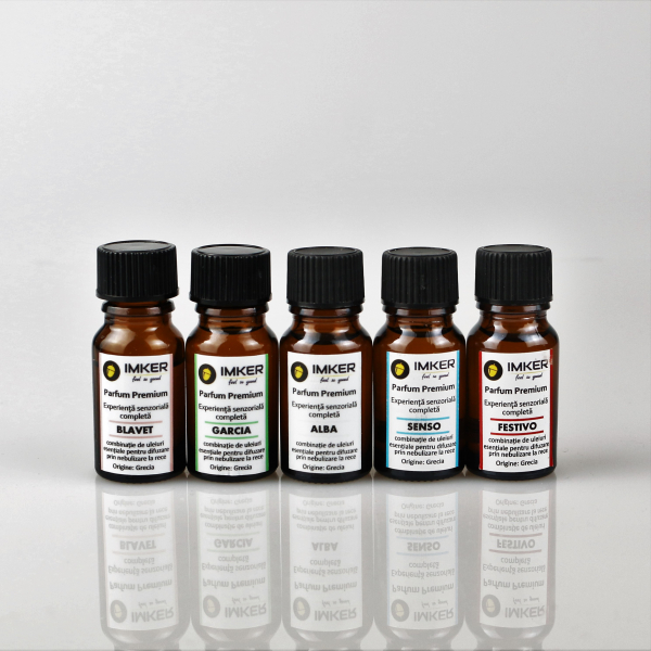 Pachet 5 + 1 GRATIS Arome din uleiuri esentiale IMKER 2