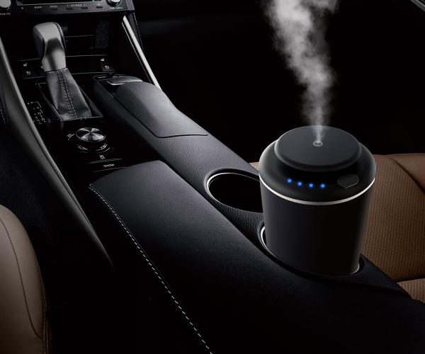 Pachet Aparat de odorizare profesional IMKER AromaLUX XS02.AC + geanta + 5 arome parfum 1