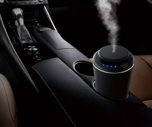 Pachet Aparat de odorizare profesional IMKER AromaLUX XS02 + geanta + 5 arome parfum1