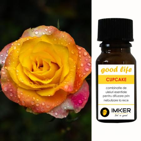 Parfum uleiuri esentiale CUPCAKE - printre arome: vanilie, trandafir, patchouli