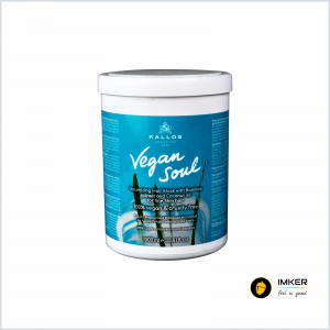 Pachet Sampon + Masca hidatanta KALLOS Vegan Soul, 100% vegan, 1+1 l1