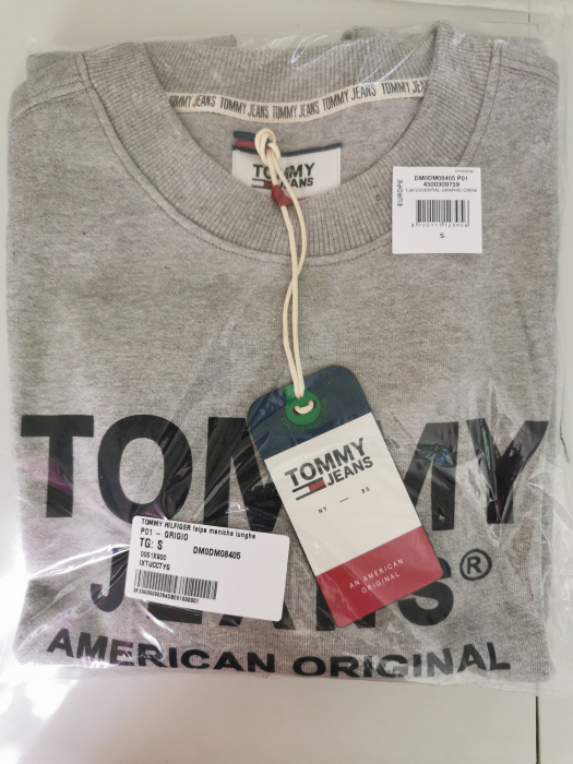 Bluza barbati Tommy Jeans Essential Graphic Crew DM0DM08405 2