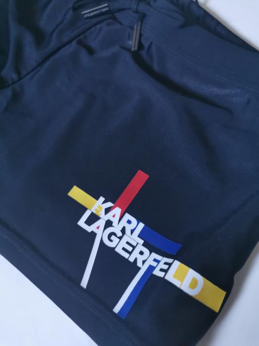 Boxeri de baie Karl Lagerfeld KL20MTR01 , negru , marimea M [3]