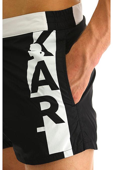 Pantaloni scurti baie KARL LAGERFELD BEACHWEAR KL19MBS02 [2]