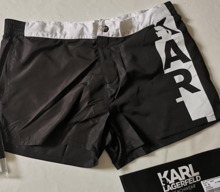 Pantaloni scurti baie KARL LAGERFELD BEACHWEAR KL19MBS02 [3]