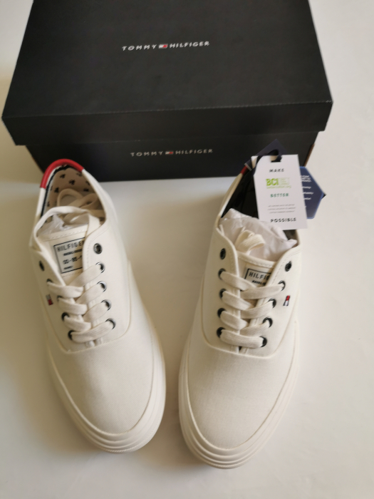 Teniși Tommy Hilfiger Core Oxford Twill  FM0FM02670 5