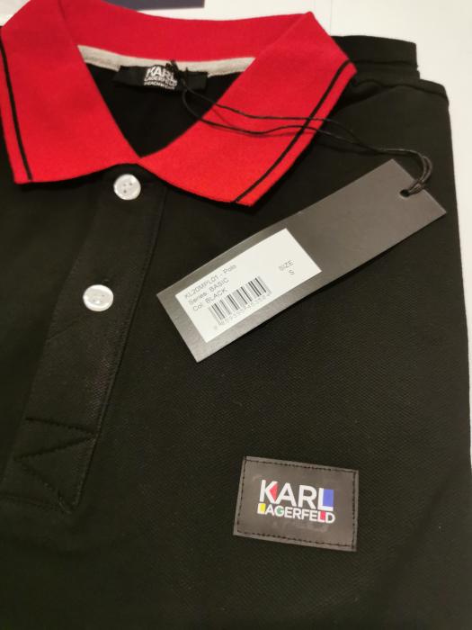 Tricou polo barbati KARL LAGERFELD Beachwear KL20MPL01 2