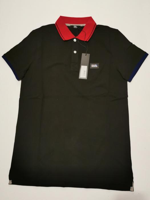 Tricou polo barbati KARL LAGERFELD Beachwear KL20MPL01 3