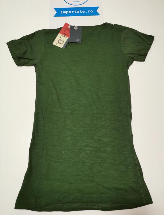 Tricou verde dama Hilfiger Denim 1