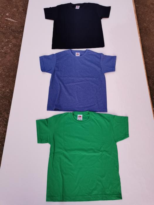Tricouri FRUIT OF THE LOOM pentru copii 1