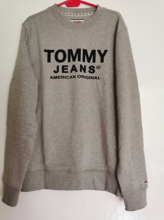 Bluza barbati Tommy Jeans Essential Graphic Crew DM0DM084053