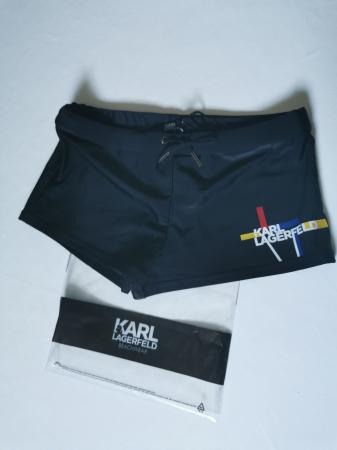 Boxeri de baie Karl Lagerfeld KL20MTR01 , negru , marimea M [2]