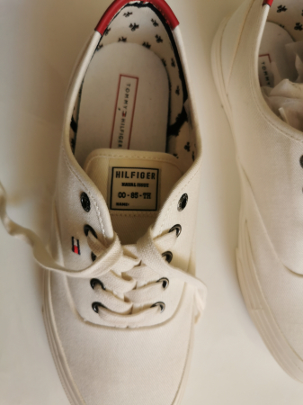 Teniși Tommy Hilfiger Core Oxford Twill  FM0FM026707