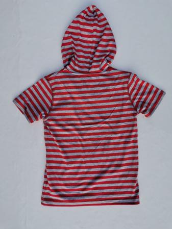 Tricou cu gluga, in dungi RL Sovereign Coder [3]