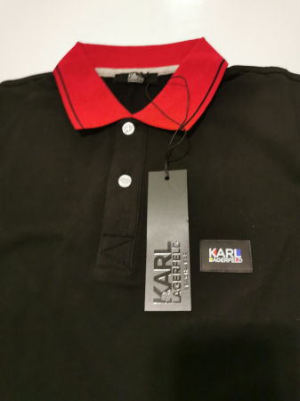 Tricou polo barbati KARL LAGERFELD Beachwear KL20MPL014