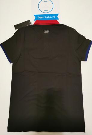 Tricou polo barbati KARL LAGERFELD Beachwear KL20MPL015