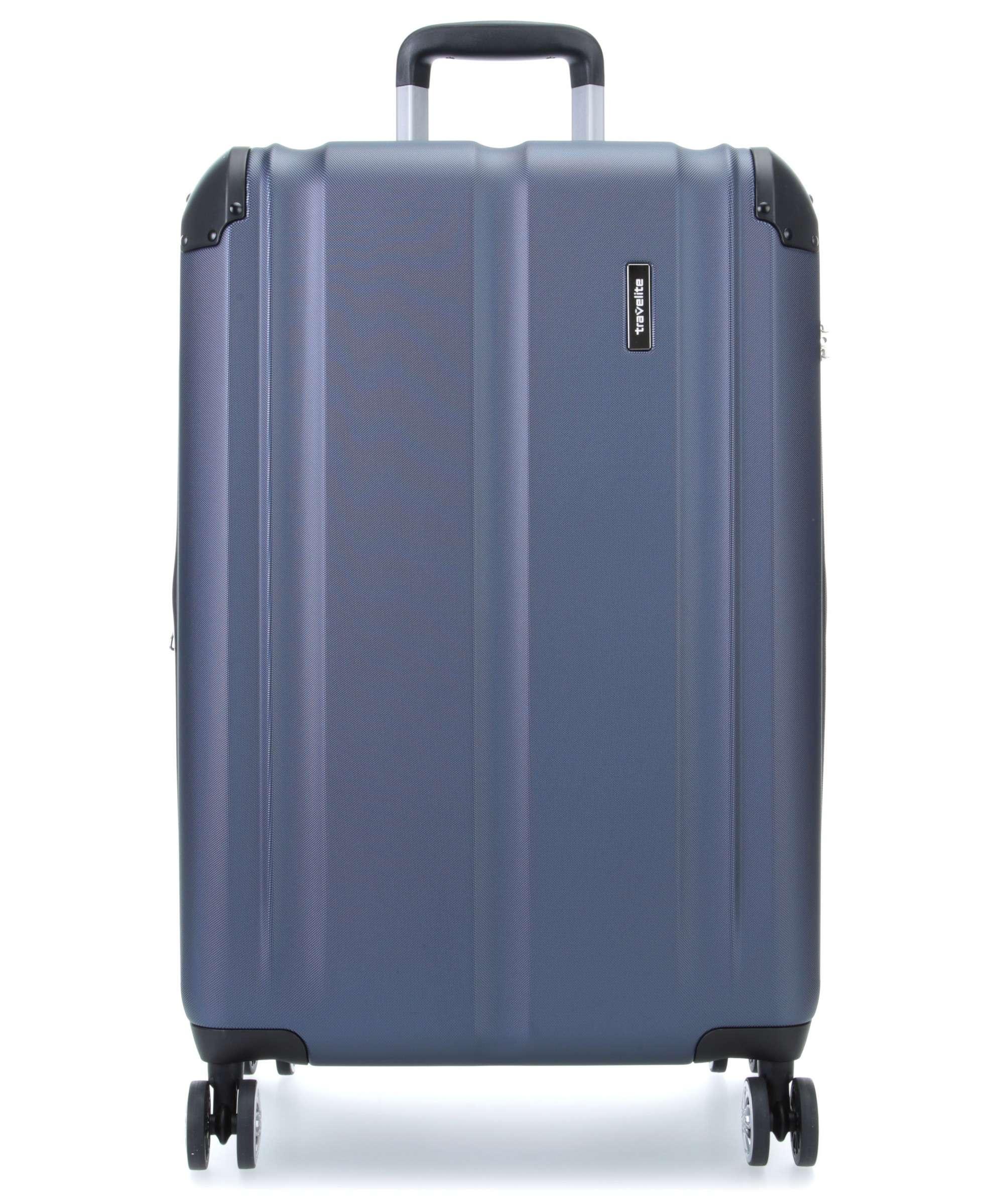 Troler Travelite CITY 4 roti 77 cm L extensibil