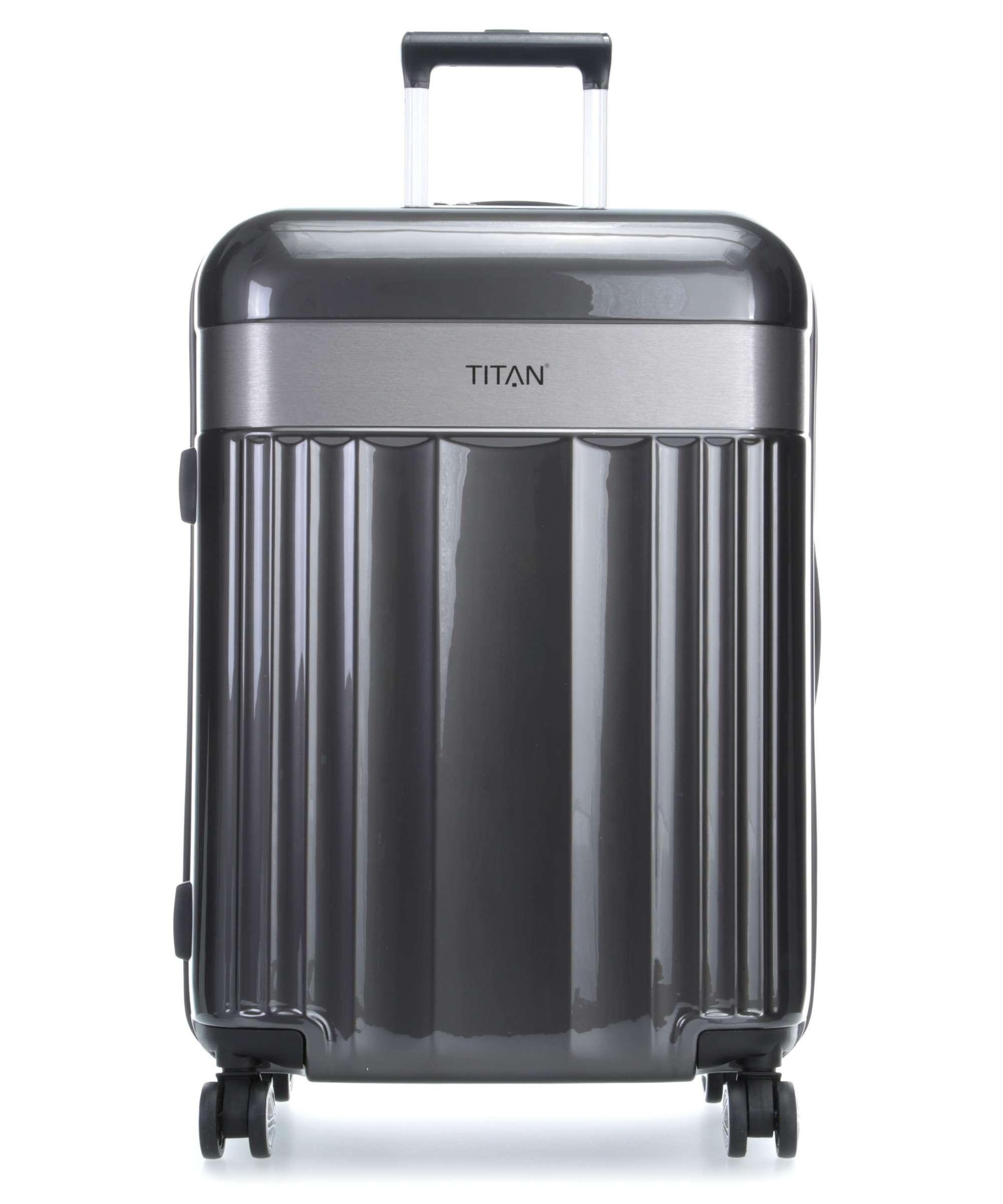 Troler TITAN - SPOTLIGHT 4 roti duble S - 55 cm